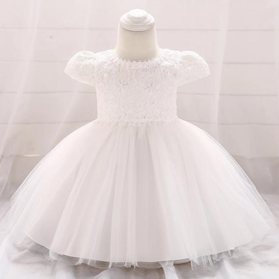 Vestido Para Bautismo, Casamiento, Primer Añito Para Bebe