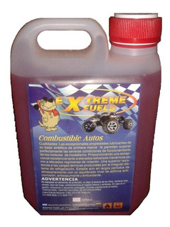 Mezcla Glow Combustible 16% Nitro Automodelismo Bidón 2 Lts.
