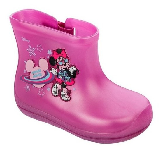 Galocha Disney Friends Baby 22182 Grendene - Rosa/rosa