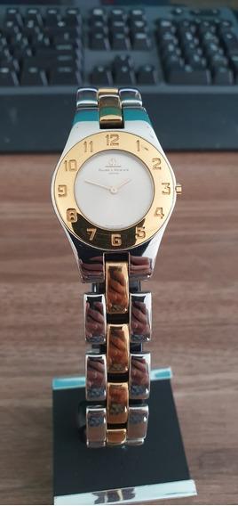 Relógio Suíço Feminino Baume Et Mercier Linea Bicolor Quartz