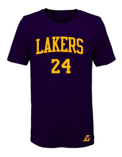 Remera Basket Nba Los Angeles Lakers (024) #24 Kobe Bryant