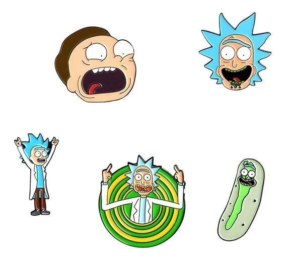 Pin Rick And Morty - Picke Rick Summer Serie
