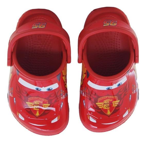 Sandalias Crocs Cars Clog K Flame Niño Rj/rj
