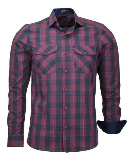 Camisa Amil Straus Slim Masculina M Longa Lançamento 2019