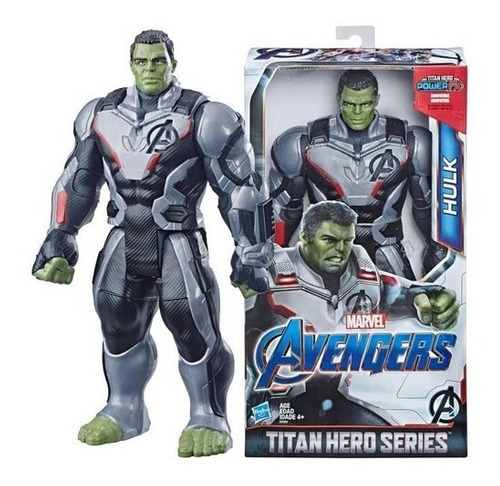 Imagem 1 de 3 de Hulk 2.0 Vingadores Ultimato Titan Hero Deluxe - Hasbro