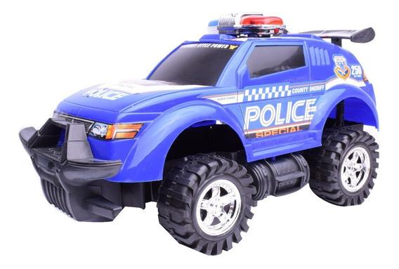 Camioneta De Policia A Friccion