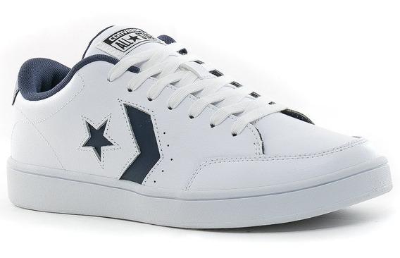 Converse Zapatilla Star Court Unisex Cuero Moda Skate Dep