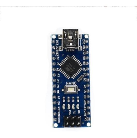 Arduino Nano V3 Atmega328p Ch340 Com Pinos Soldados Novo Nfe