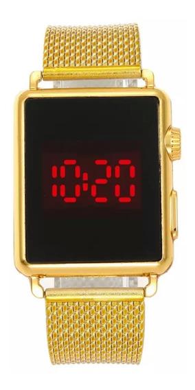 Kit C/03 Relógio Led Digital Feminino Masculino Atacado
