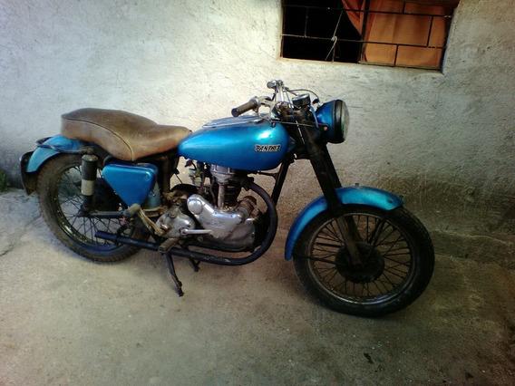 Moto Clasica Panther 350 Inglesa 1954