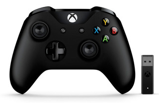 Joystick Control Xbox One Wireless + Adaptador Pc Mexx