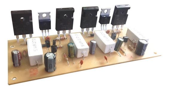 Amplificador 150w + 150w Estereo +/-45 Volt Tip142 Tip147