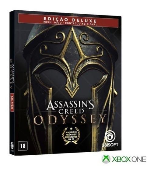 Assassins Creed Odyssey Gold Steelbook Edição Xbox One