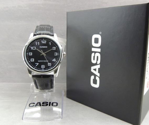 Relógio Casio Masculino - Mtp-v001l-1budf (nf E Garantia)