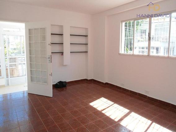 Ótima Casa Térrea Para Locação - Comercial - 140m² - Quatro Salas, Sendo Duas Com Sacada. - Ca0067