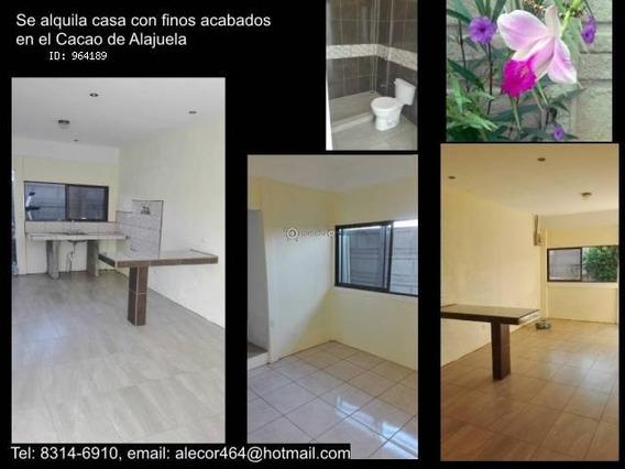 Apartamento Para Alquilar Cacao De Alajuela