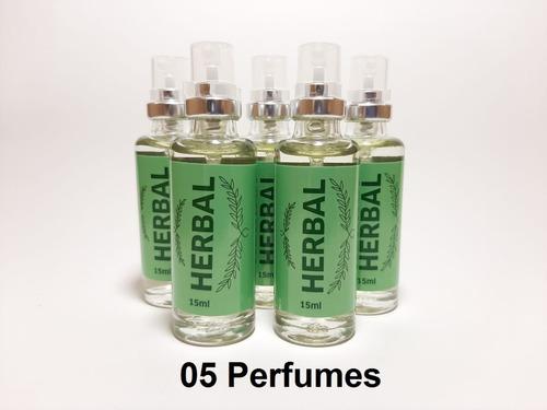Imagem 1 de 3 de 5 Unidades Herbal (masculino) 16 Ml, Fixação Intensa + 20h