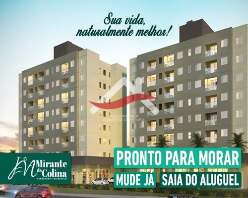 Imagem 1 de 16 de Jr Mirante Da Colina. Apartamento 53,42 M². 2 Dormitórios, Varanda Gourmet, 1 Vaga De Garagem, Lazer. Shopping De Serviços - Ap00160 - 69674307