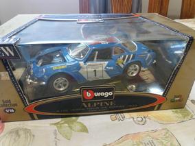 Miniatura Coleção Carro Alpine A110 1973 1/16
