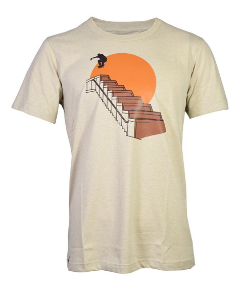 Remeras Topper Gtm-olly Skate Hombre Capuccino