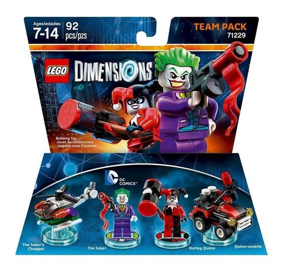 Lego Dimensions Dc Comics Coringa Team Pack 71229 Ps4 Xbox