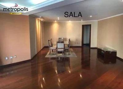 Apartamento Com 4 Dormitórios À Venda, 206 M² Por R$ 890.000 - Barcelona - São Caetano Do Sul/sp - Ap1980