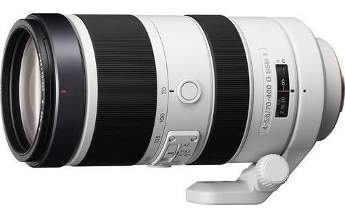 Sony 70-400mm 4-5.6 G Ssm Lente Ii