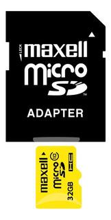 Memoria Micro Sd 16gb Maxell Clase 10 Celular Camara Tablet