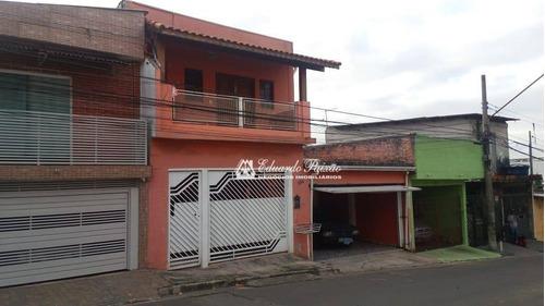 Imagem 1 de 7 de Sobrado Com 4 Dormitórios À Venda, 195 M² Por R$ 620.000,00 - Jardim Flor Da Montanha - Guarulhos/sp - So0449