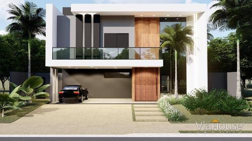 Imagem 1 de 13 de Casa Com 4 Dormitórios À Venda, 410 M² Por R$ 2.300.000,00 - Condomínio Alphaville - Ribeirão Preto/sp - Ca3872