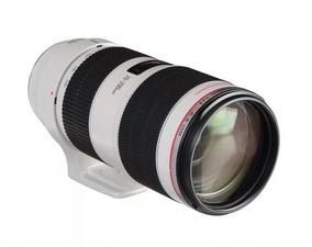 Aluguel De Lente Canon 70-200mm F 2.8l (diária)