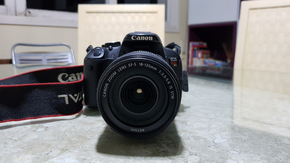Canon Eos Rebel T4i/650d + Lente 18-135mm