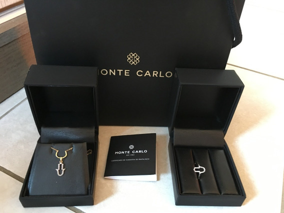 Monte Carlo - Coleção Amuletos Ouro 18k