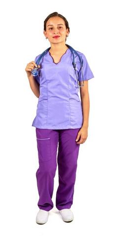 Uniforme Enfermería Para Mujer En Antifluido + Obsequio