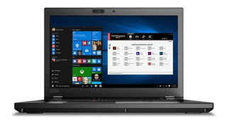 Laptop Lenovo Thinkpad Xeon 8gb En Ram 256 Gb Ssd I7