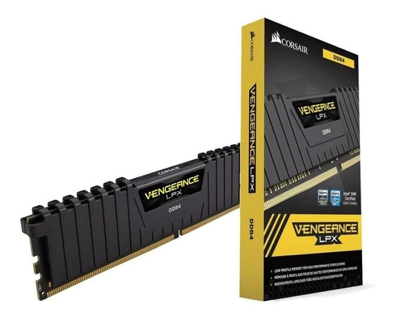 Corsair Memoria Ddr4 16gb 3000mhz Vengeance Lpx Black