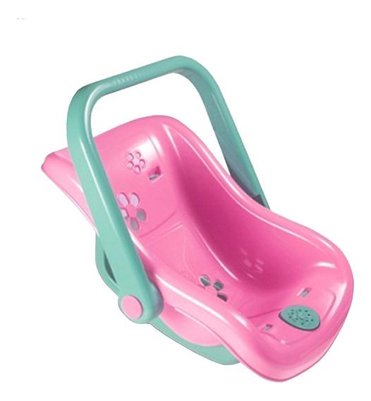 Bebê Conforto Para Boneca Cadeirinha Musical - Nova Toys