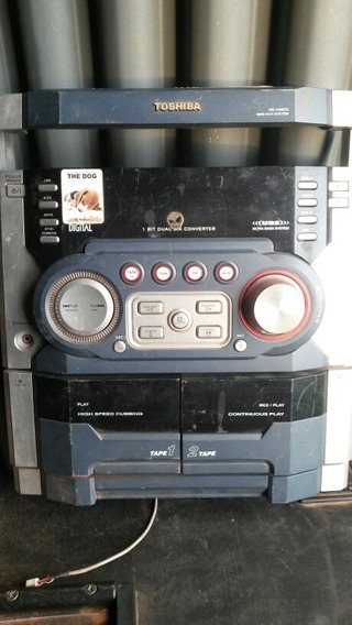 Placa Com Painel Frontal Do Micro System Toshiba Ms-7306cd