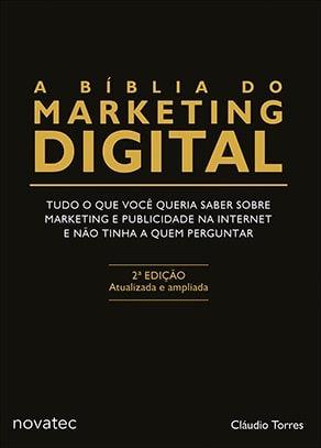 Livro A Bíblia Do Marketing Digital 2ªe Atualizada Ampliada