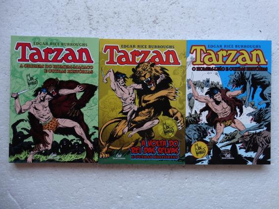 Tarzan Volumes 1 A 3! Editora Mythos 2010-2013!