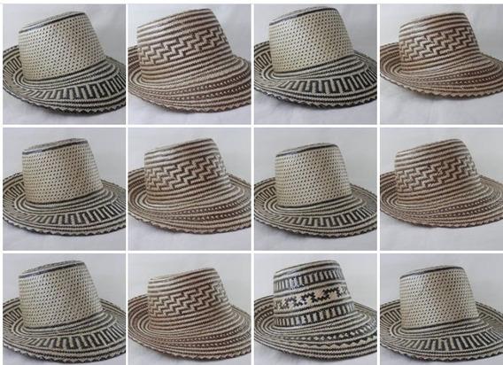 Sombrero Wayuu Artesanal Hecho A Mano Original