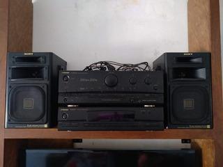 Amplificador Equipo Audio Musica Minicomponente Parlantes