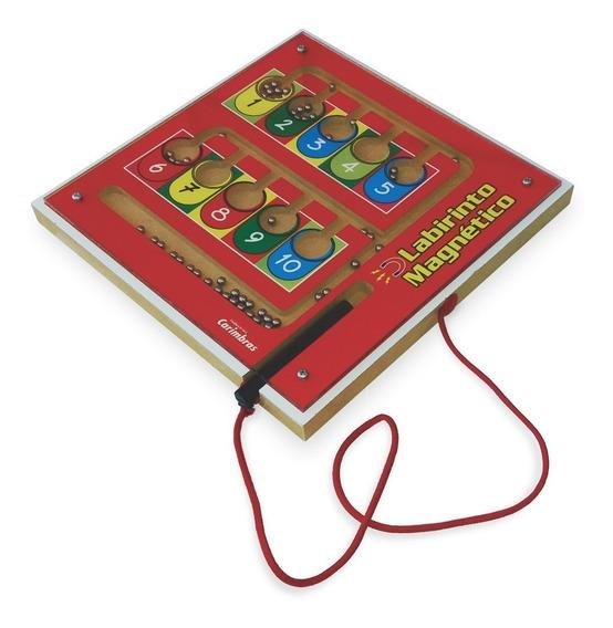 Brinquedo Educativo Labirinto Magnético