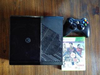 Xbox 360 Ultra Slim Original Sin Fuente+ Joystick +fifa Leer