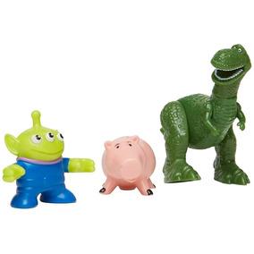 Imaginext Disney Toy Story Figura Rex Porco E Alien Mattel