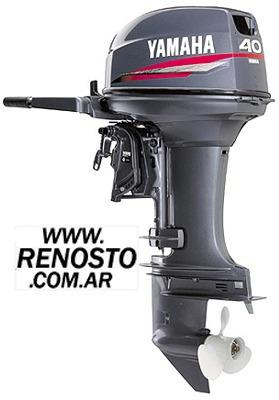Motores Yamaha 40hp 2t Arranque Manual Pata Larga Renosto
