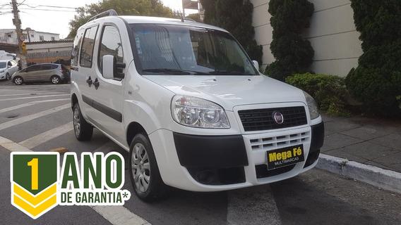 Fiat Doblo 1.4 Atractive 5p Flex 2015 Branco Completo