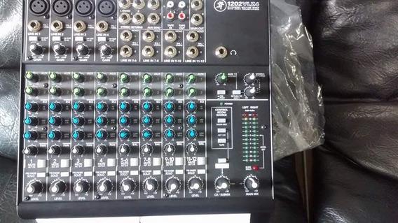 Mesa Mackie Mixer 1202vlz4 // 12 Canais Áudio