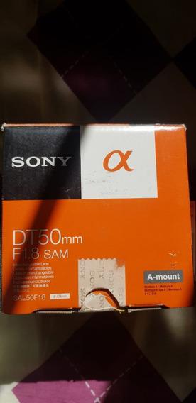 Lente Sony Dt 50mm F/1.8 Sam