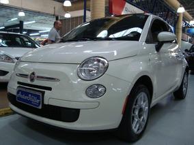 Fiat 500 Cult 1.4 Flex 2013 Branco (completo + Teto Solar)